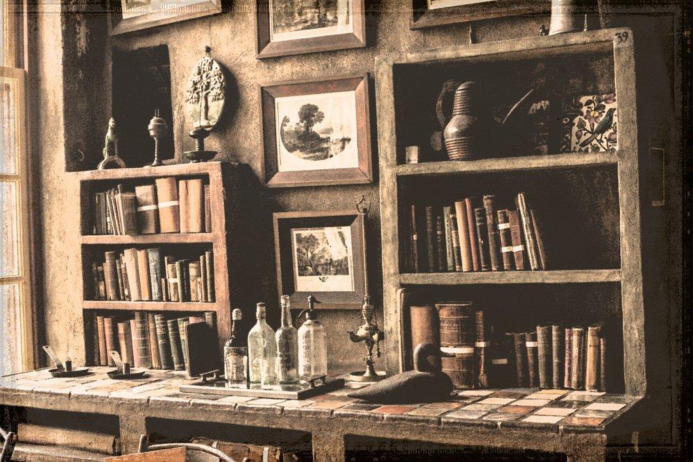 Book shoppe The desk Fonthill Castle